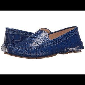 Sam Edelman blue loafers